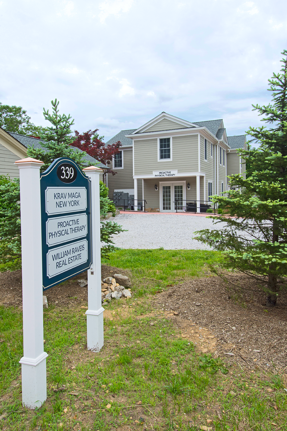 A view of the new Proactive Physical Therapy, PC offices from Route 202